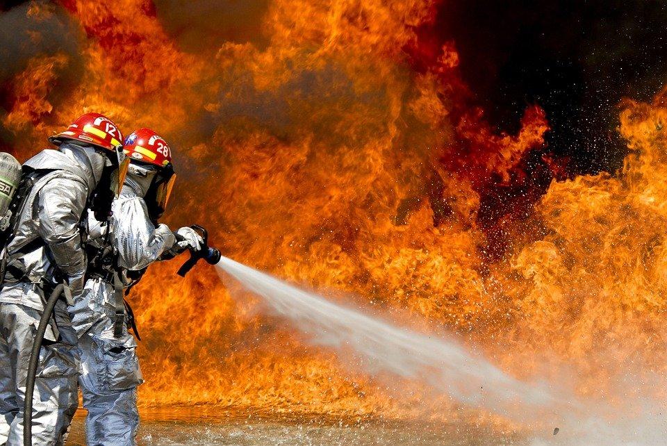 消防员的献身